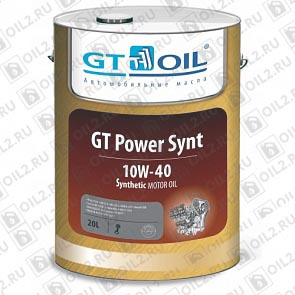 Купить GT-OIL GT Power Synt 10W-40 20 л.