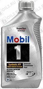 Купить Трансмиссионное масло MOBIL 1 Synthetic ATF 0,946 л.
