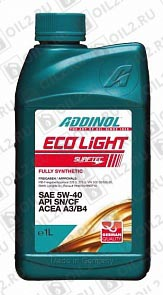 Купить ADDINOL ECO Light 5W-40 1 л.
