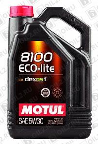 Купить MOTUL 8100 Eco-lite 5W-30 5 л.