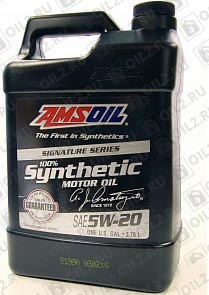Купить AMSOIL Signature Series Synthetic Motor Oil 5W-20 3,785 л.