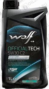Купить WOLF Official Tech 5W-30 C2 1 л.