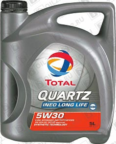 Купить TOTAL Quartz Ineo Long Life 5W-30 5 л.