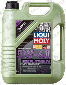 Купить LIQUI MOLY Molygen New Generation 5W-40 5 л.