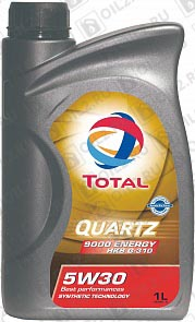 Купить TOTAL Quartz 9000 Energy HKS G-310 SAE 5W-30 1 л.