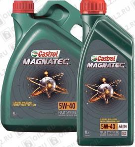 Купить CASTROL Magnatec 5W-40 A3/B4 4 1 л